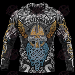 Viking Odin Wotan 3D All Over Printed Hoodie