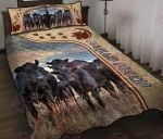 Angus Cows Quilt Bed Set & Quilt Blanket