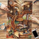 Pug Coffee Shop - Puzzle
