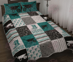 And Into The Garden Quilt Bed Set