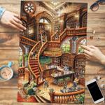 German Shepherd Coffee Shop - Puzzle