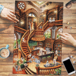 Bulldog Coffee Shop - Puzzle