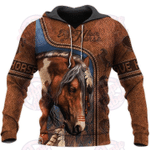 Love Horse 3D All Over Printed Hoodie HPV02