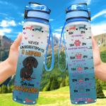Dachshund Woman Love Hydro Tracking Bottle