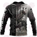 Appaloosa Horse 3D All Over Print Hoodie