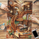 Goldendoodle Coffee Shop - Puzzle