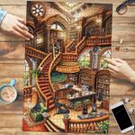 Doberman Coffee Shop - Puzzle