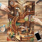 Cocker Spaniel Coffee Shop - Puzzle