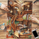 Great Dane Coffee Shop - Puzzle
