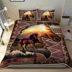 The Wild Spirit Horse Quilt Bed Set