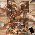 Cats Coffee Shop - Puzzle