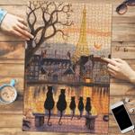 Black Cat In City - Puzzle