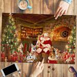 Corgi With Santa - Puzzle