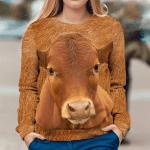 Cow Hair 3D Sweatshirt