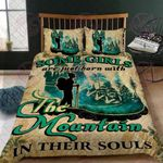 Some Girls Are Just Born With The Mountain In Their Souls Quilt Bed Set