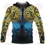 Viking Celtic Knot Tattoo All Over Printed Hoodie