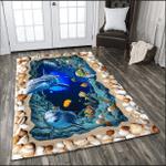 Dolphin Lovers 3D Rug