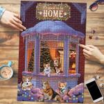 Corgi In Christmas's House - Puzzle