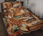 Corgi Coffee Shop - Quilt Bed Set