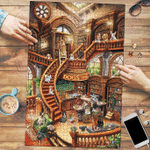 Dogs Coffee Shop - Puzzle
