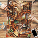 Yorkshire Terrier Coffee Shop - Puzzle