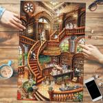 Shetland Sheepdog Coffee Shop - Puzzle