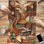 German Shorthair Pointer Coffee Shop - Puzzle