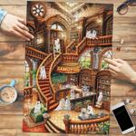 Samoyed Coffee Shop - Puzzle