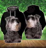 Miniature Schnauzer 3D All Over Printed Hoodie