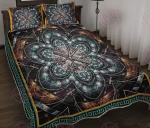 Hairstylist Visionary Mandala Quilt Bed Set