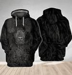 Poodle 3D All Over Printed Hoodie