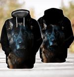 German Shepherd 3D All Over Printed Hoodie