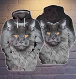 Maine Coon Cat 3D All Over Printed Hoodie
