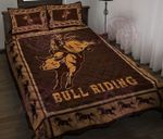 Bull riding Quilt Bed Set & Quilt Blanket HPV03