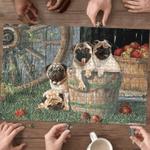 Pugs In Farm - Puzzle