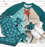 Sea Turtle Raglan Pajama Set Personalized