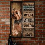 Yorkshire Terrier Dog Lovers - Poster