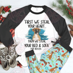 Boxer Raglan Pajama Set Boxer Steal Your Bed And Sofa