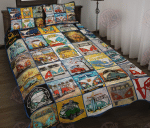 Hippie Bus Quilt Bed Set HPV01