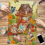 Corgi Shoe House - Puzzle