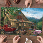 Dachshund Country Store - Puzzle