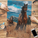 Horse In The Meadow - Puzzle