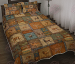 Vintage Deer Lover - Quilt Bed Set