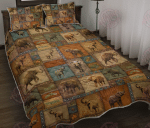 Vintage Elephant Lover - Quilt Bed Set