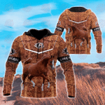 Arabian Horse 3D All Over Printed Hoodie
