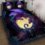 Dragon Of The Moon Quilt Bed Set