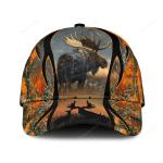 Love Moose Hunting Camo Classic Cap