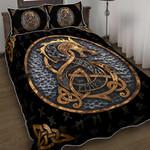Viking Fenrir Wolf Quilt Bed Set HPV02