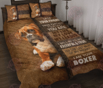 Boxer - I am Your Friend Quilt Bed Set