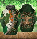 Irish 3D All Over Printed Hoodie HPV02